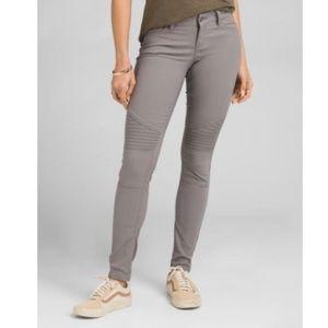 Prana | Brenna Gray Moto Skinny Pants